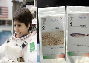 Samantha-Cristoforetti-cibo-spazio-argotec-marcopolonews