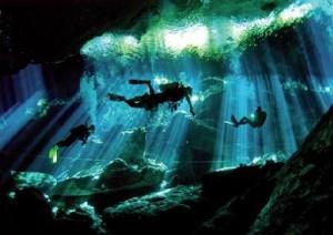 snorkel-in-cenote
