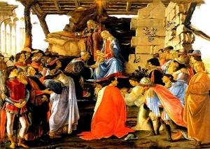 Botticelli adorazione di Magi-marcopolonews