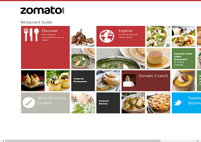 Expo app zomato mappa tutti ristoranti da gratis a pi for The food bar zomato