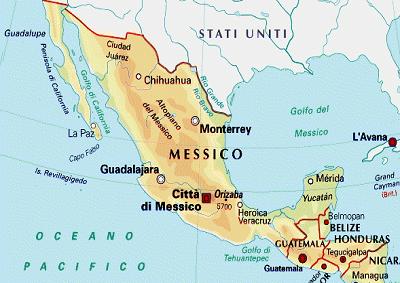Cartina Politica Messico.Messico Le Opportunita Per Le Aziende Italiane Marco Polo News